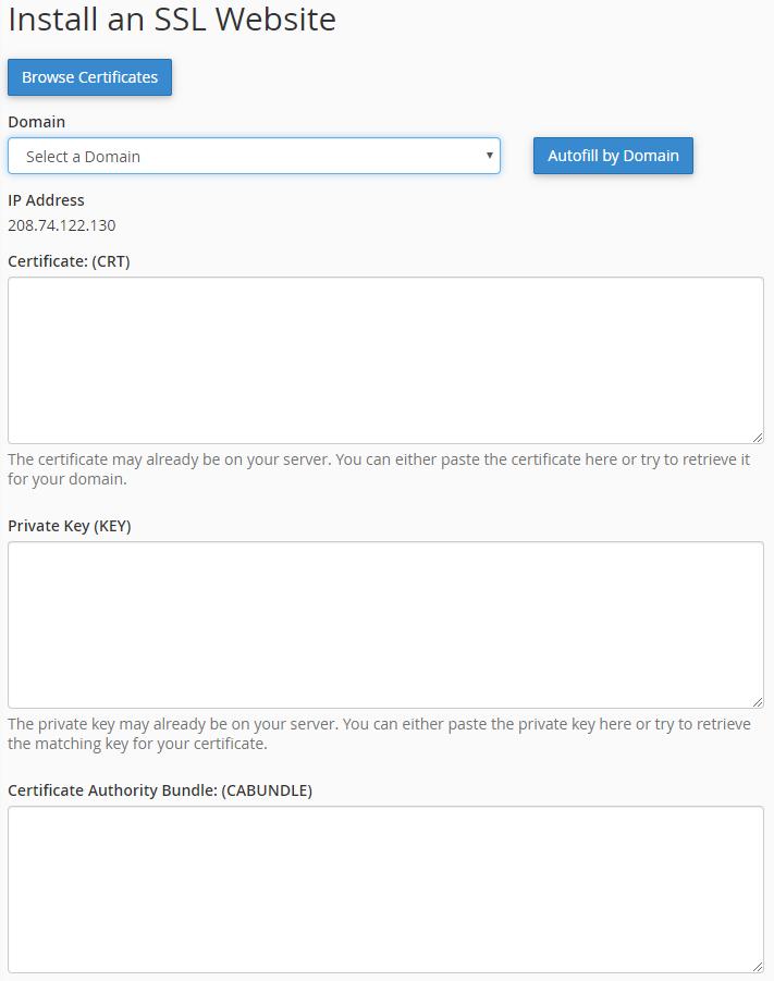 SSL certificate for wordpress, SSL wordpress, wordpress security